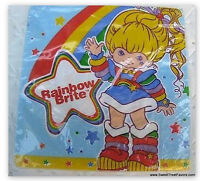 Rainbow Brite Party Napkins Lunch Birthday Supplies Doll Decoration Treats X16