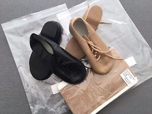 993cb9d4bdf9e JAZZ DANCE COMBO - Black OR Tan JAZZ SHOES & Tan (Skintone ...