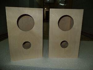 Details about Speaker box for Fostex FE107E - FE103E pair, Bass Reflex Type