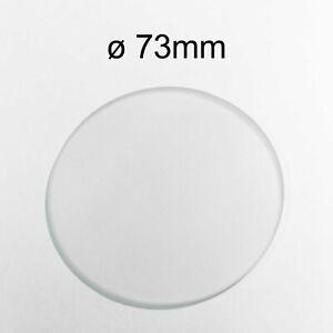 Glas Schutzglas Ersatzglas klar rund ø67mm für Tisch und Stehleuchten