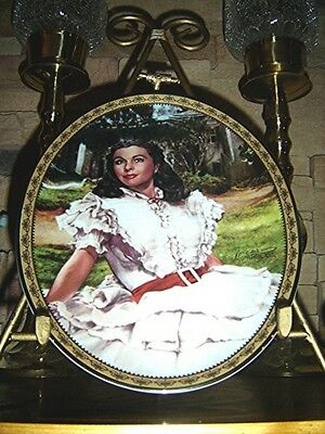 Gone With The Wind CAMEO MEMORIES Oval Plate SUNLIGHT RADIANCE #7 Seventh Issue