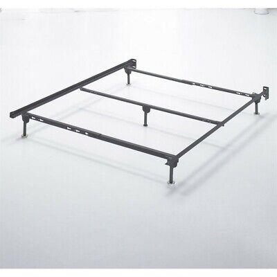 Ashley Furniture Nashburg Full Metal Spindle Bed in Matte Black