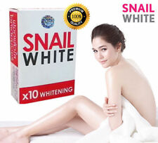 NEW!! SNAIL WHITE SOAP GLUTATHIONE X10 WHITENING SKIN/REDUCE ACNE/ANTI AGING