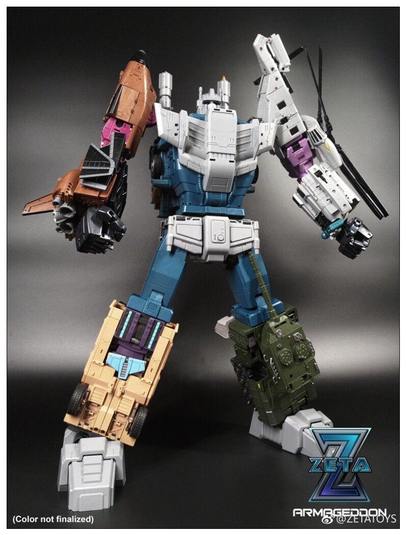 New Transformers Toys Zeta Armageddon G1 Bruticus Masterpiece Toy All Sets