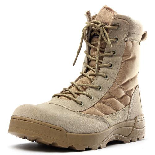 Herren Militär Taktische Kampfstiefel Winter Jagd Wandern Camouflage Army Schuhe
