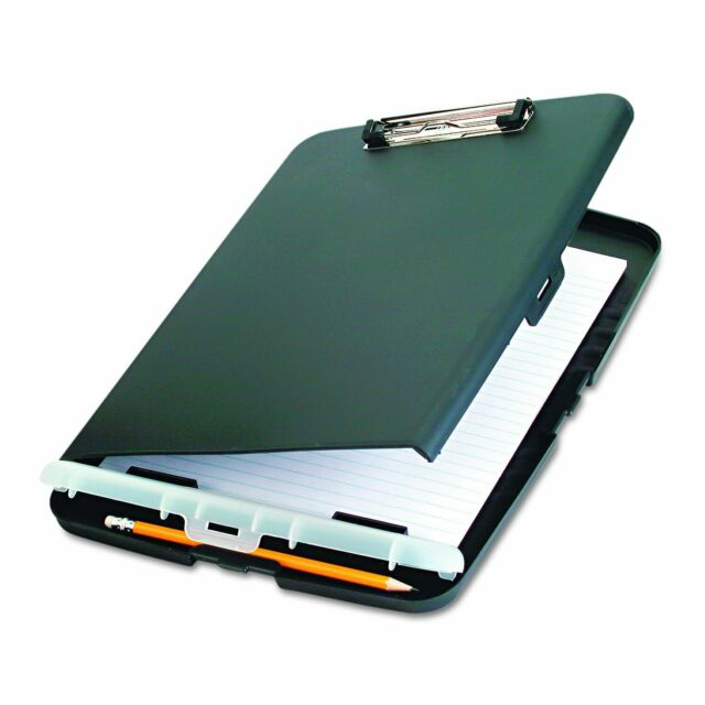 Clipboard With Storage Case Compartment Document Paper Box Container Memo
