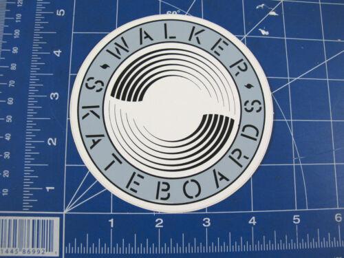 Yoyo Schulz McCall vtg 1980s Walker skateboard sticker Dinkins asstd logos