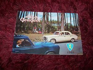 Catalogue-Brochure-PEUGEOT-403-incl-403-Cabriolet-1961