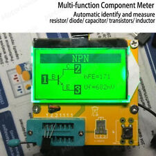 All In 1 Lcd Component Tester Transistor Diode Capacitance Esr Meter Inductance