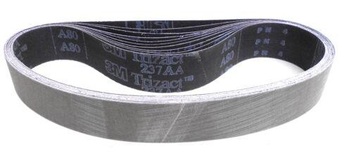 10 Stück 3M Trizact Schleifband 237AA Maße /& Körnung wählbar