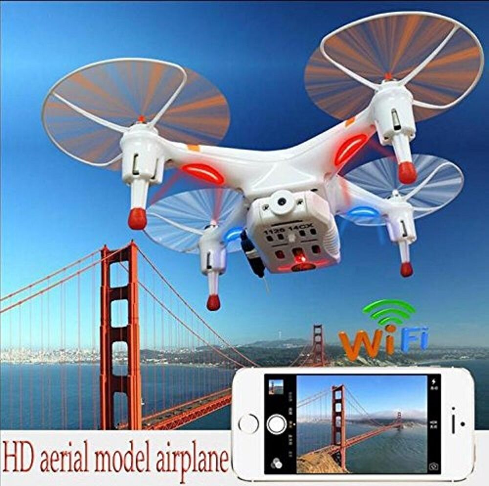 Cheerson CX-30W 2.4G Wifi FPV Drone 0.3MP Quadcopter Plane Helicopter IR RC Play