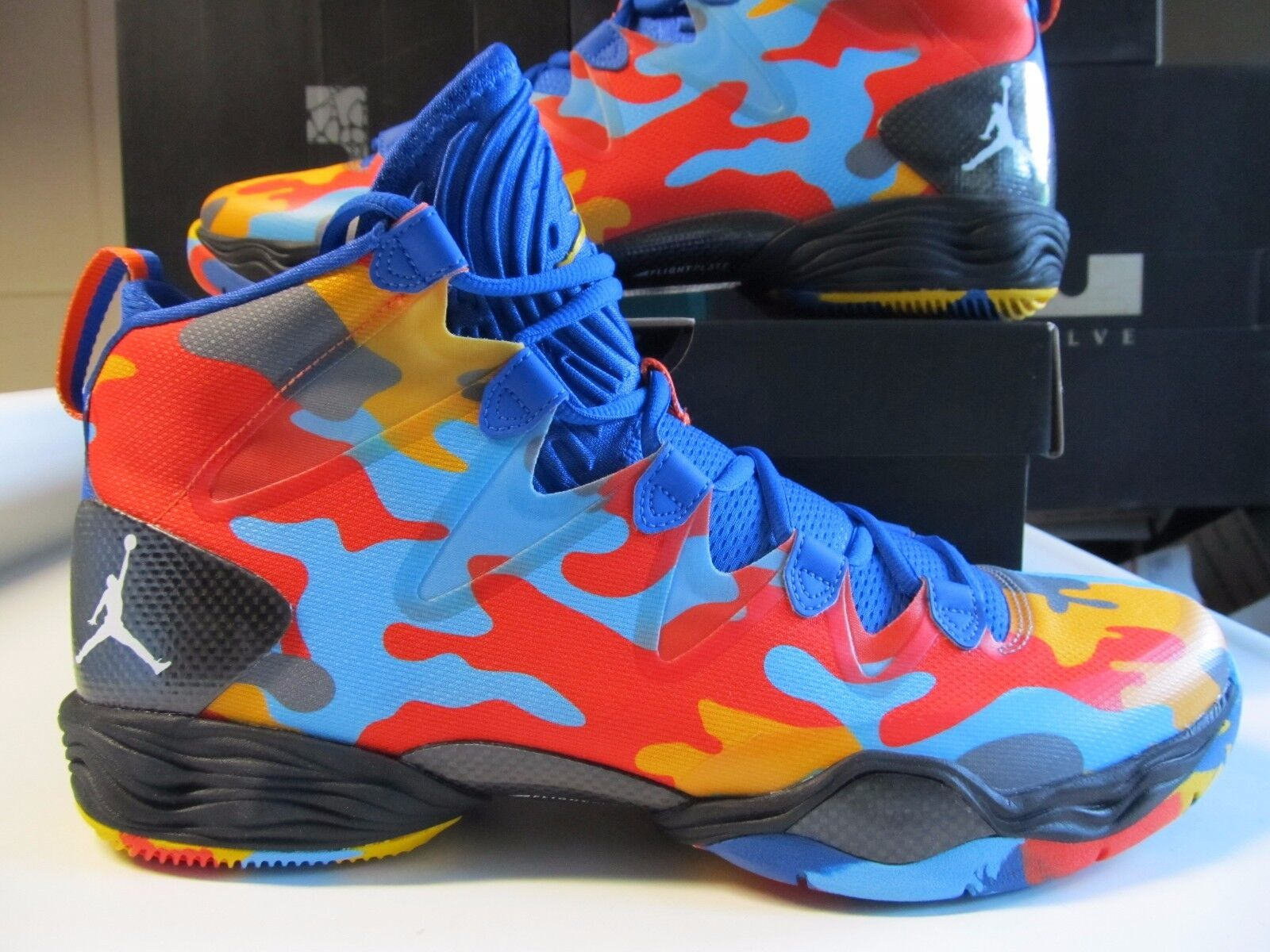 Nike Air Jordan XX8 SE CAMO Blue Org RUSSELL WESTBROOK 616345 450 28 okc thunder
