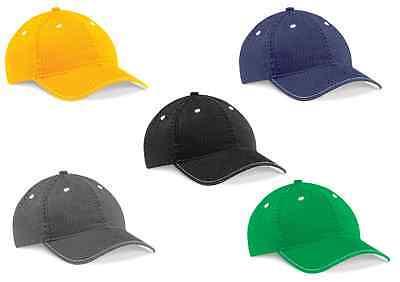 Beechfield B650 Unisex Cotton Vintage Fashion Cap Hat - Various Colours