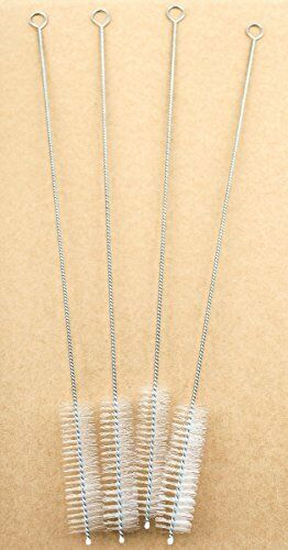 """EXTRA WIDE 1//2/"""" wide x 10/"""" Bubble Tea Boba Straw Cleaning Brushes Set of 4"""
