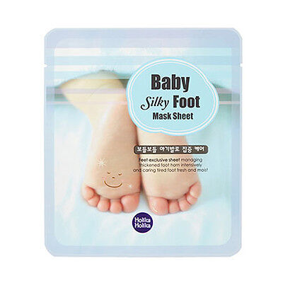 [HOLIKA HOLIKA] Baby Silky Foot Mask Sheet / Korea cosmetic