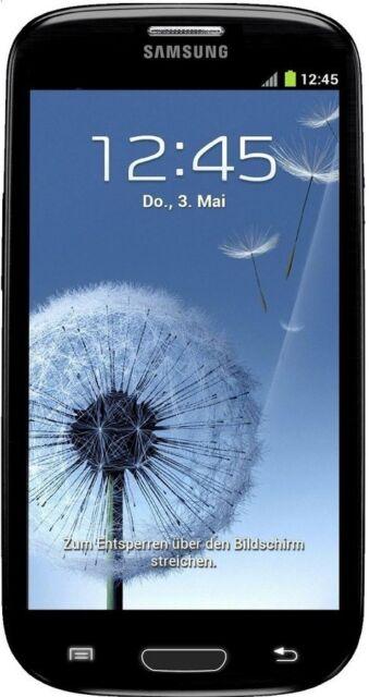 New Unlocked Samsung Galaxy S3 SIII Sapphire Black 4G Android Smartphone i9305