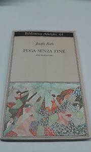 FUGA-SENZA-FINE-JOSEPH-ROTH-COD-ISBN-9788845900983