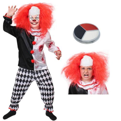 Ragazzi Halloween Costume ASSASSINO Spaventoso Kids Vestito S M L XL Childs