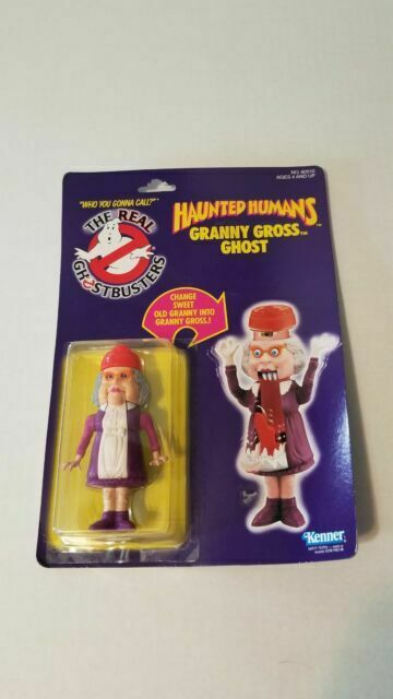 MOSC!! The Real Ghostbusters Haunted Humans Granny Gross Ghost Vintage 1986 New