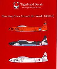 Tigerhead Decals 1/48 LOCKHEED T-33 SHOOTING STAR Around the World