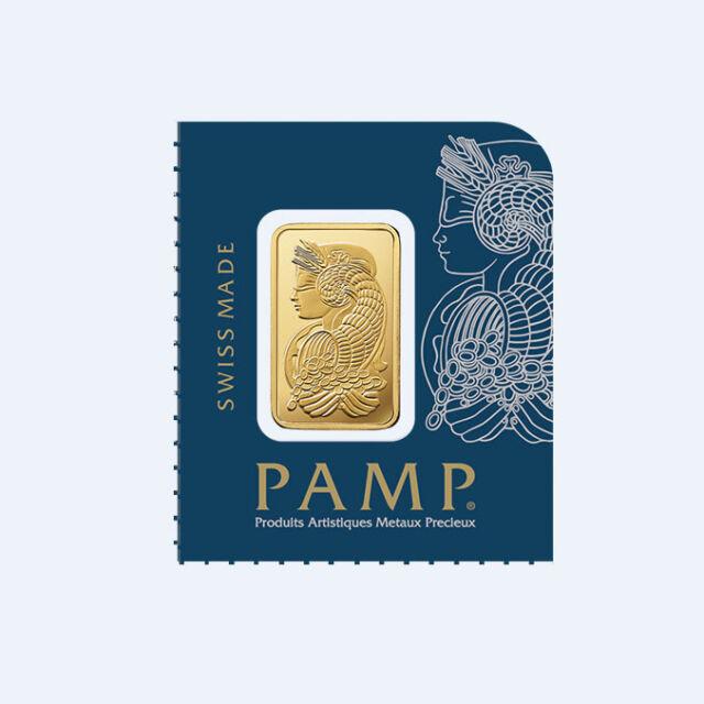 Goldbarren 1g 1 Gramm Pamp Suisse Fortuna Gold 99,99 gold bar 1 g Multigram