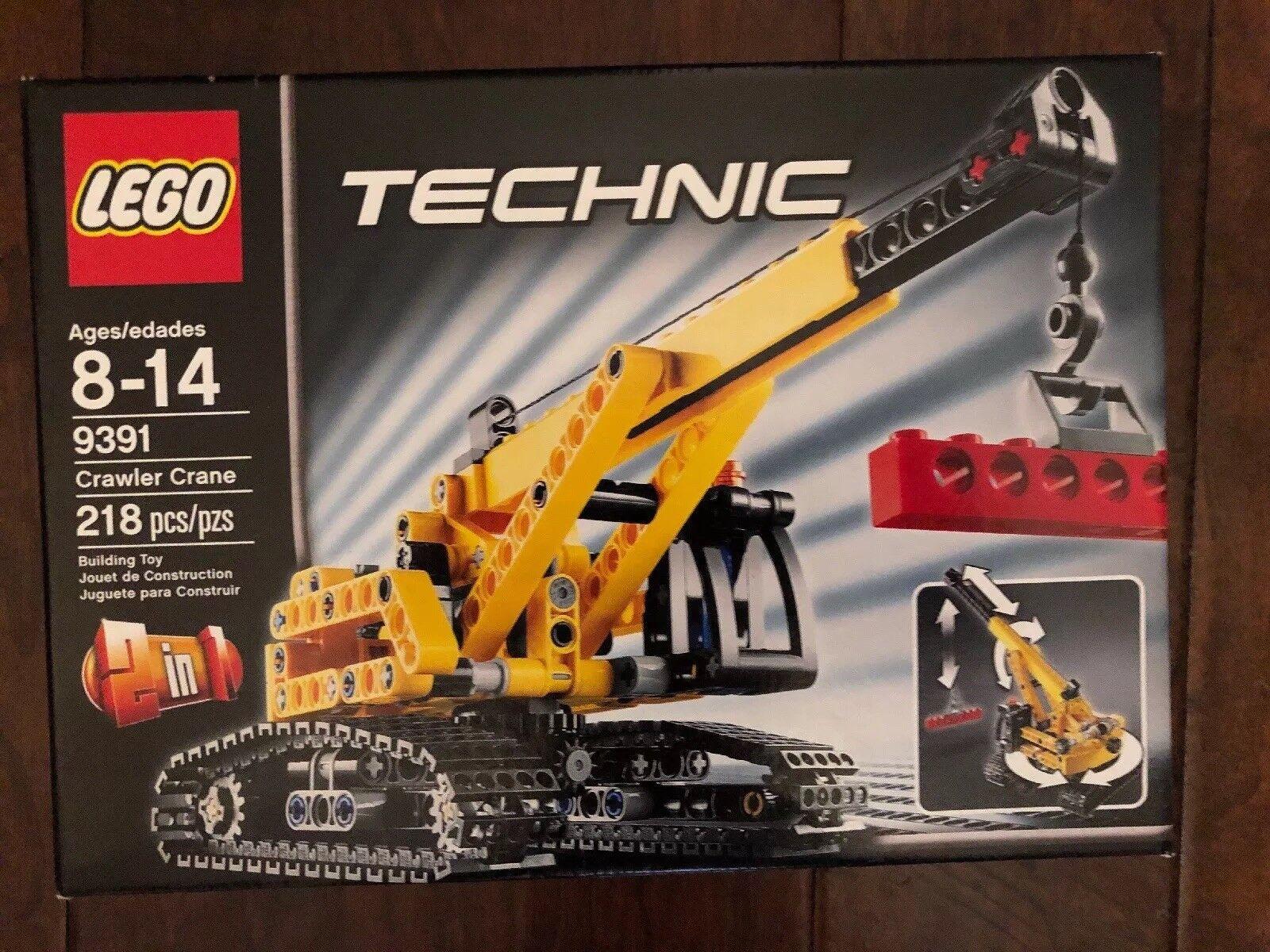 Lego Technic grúa de orugas 9391 Totalmente Nuevo En Caja Sellada