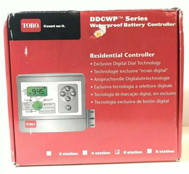 DDCWP /Timer 4/Stations Toro Water Timer/