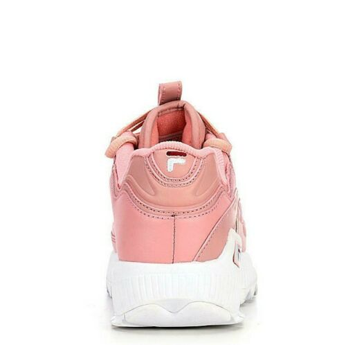 Fila D-Formation Women's Shoes Sneakers Pale Pink Leather Retro Brand New
