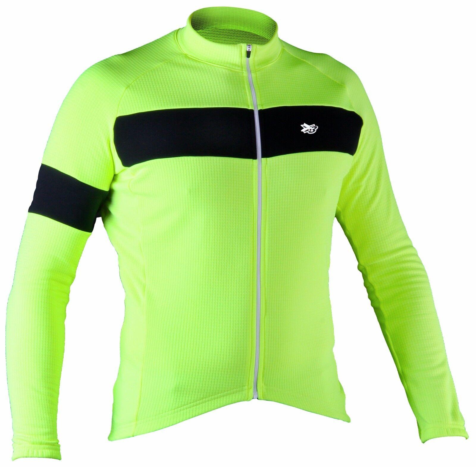 Maglia uomoica lunga ciclismo giacca leggera gituttio fluo abgreeliamento bici mtb