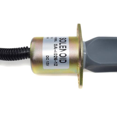 New Fuel Shut Off Solenoid for Ford 5.9L 8.3L Cummins Diesel SA-4026-12 3919422