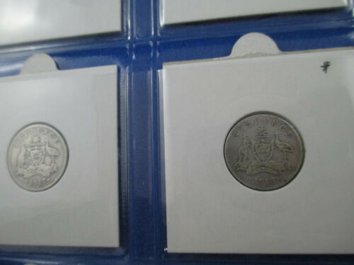 - VG//F 1910-1920 SIXPENCE SET GET IN QUICK! Includes Rare 1918! 9 COINS