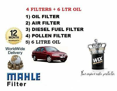 VAUXHALL VECTRA OIL AIR FUEL POLLEN FILTERS  2.0 2.2 TD