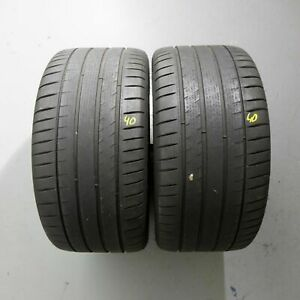 2x-Michelin-Pilot-SPORT-4-265-35-r18-97y-Dot-0416-5-mm-pneus-d-039-ete