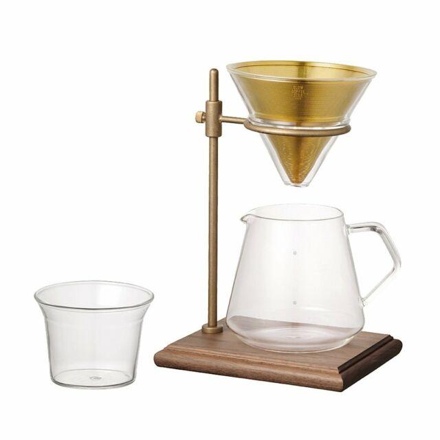 Kinto Brewer Soporte Set SCS-S02 Pour Over Café 4 Tazas Simple Diseño Fresco