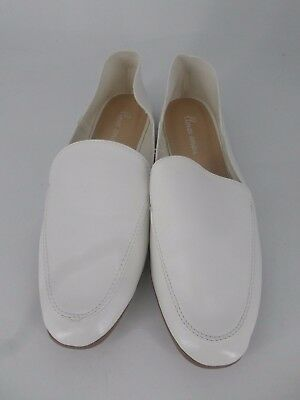 Amor Amore Slip on Mocasín Zapatos Blanco UK 4 EU 37 LN23 01