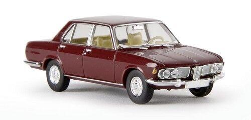 Brekina HO BMW 2500 berline rouge pourpre E3-1968 1//87 ème