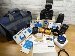 Minolta-x700-x-700-MPS-35mm-SLR-Film-Kamera-Bundle-amp-50mm-1-7-Objektiv-getestet