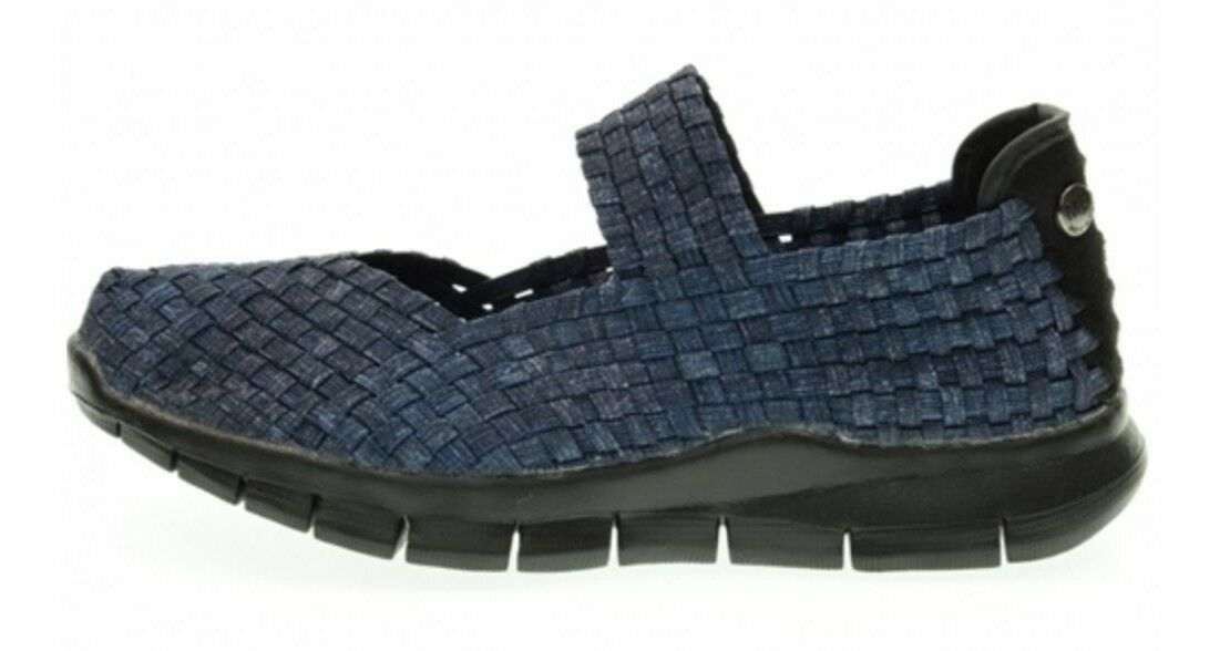 ORIGINALI BERNIE MEV CHARM 2 Blau Denim Sneaker con soletta in MEMORY