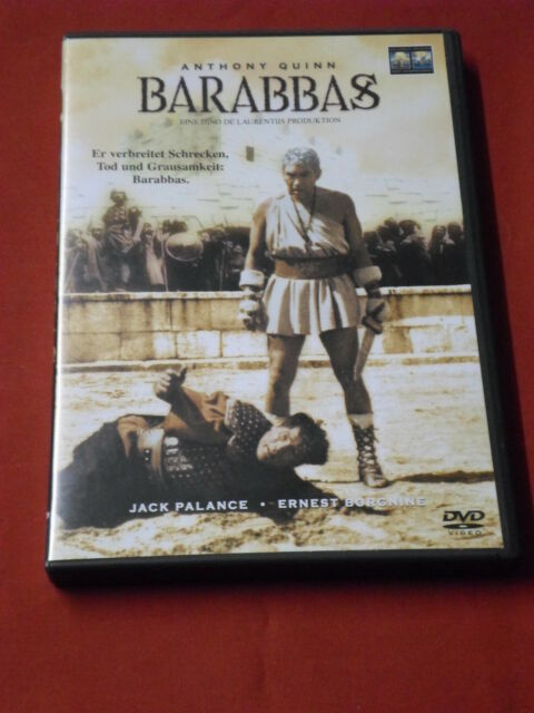 "Anthony Quinn,Arthur Kennedy in ""BARABBAS"""