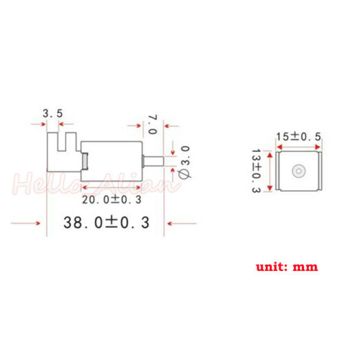 12V DC 2-position 3-way small Mini Electric Solenoid Valve for Gas Air pump