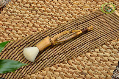 Long-handled Bamboo Stick Tea Brush for Gongfu Tea Ceremony