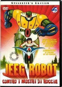 Dvd-Jeeg-Robot-contro-i-mostri-di-roccia-Collector-039-s-Edition-1979-Usato