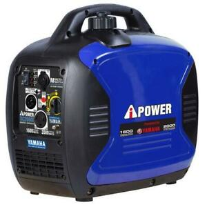 A-Ipower 2,000 Watts Portal Gasoline Inverter Generator Powered by Yamaha Engine