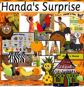 HUGE-HANDA-039-S-SURPRISE-HANDAS-HEN-Story-teaching-resources-for-a-sack-EYFS-KS1