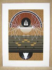 Charley Harper Wing Ding Grouse Possum Signed Serigraph Art Print