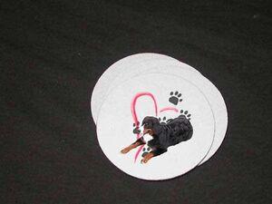 NEW Beautiful Bernese Mountain Dog Soft Coaster Sets!  FREE SHIPPING!!