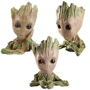 Baby-Groot-Tree-Man-Figure-Pen-Pot-Guardians-of-The-Galaxy-Children-Toy-Gift-New