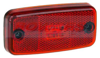 SIM 3157 24V REFLECTIVE RED LED REAR MARKER POSITION LIGHT//LAMP SURFACE MOUNT