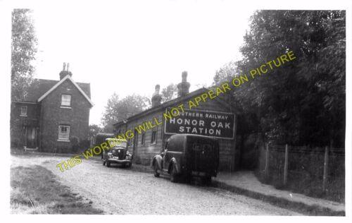 Nunhead Peckham Line Honor Oak Railway Station Photo Lordship Lane 4