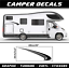 Adesivi camper kit sticker 100cm casa mobile Caravan elnagh adria rimor e altri